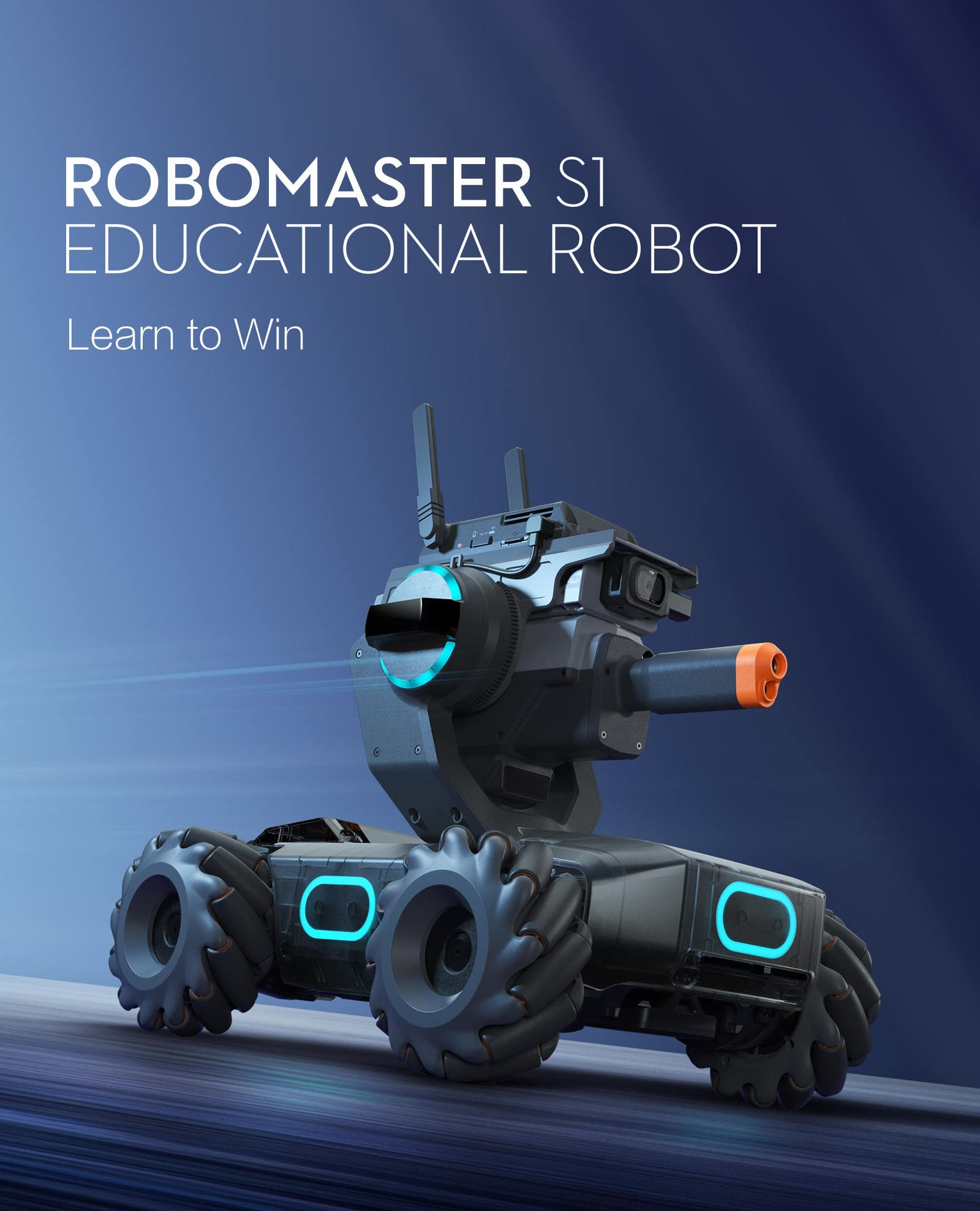 RoboMaster S1 - Educational Robot