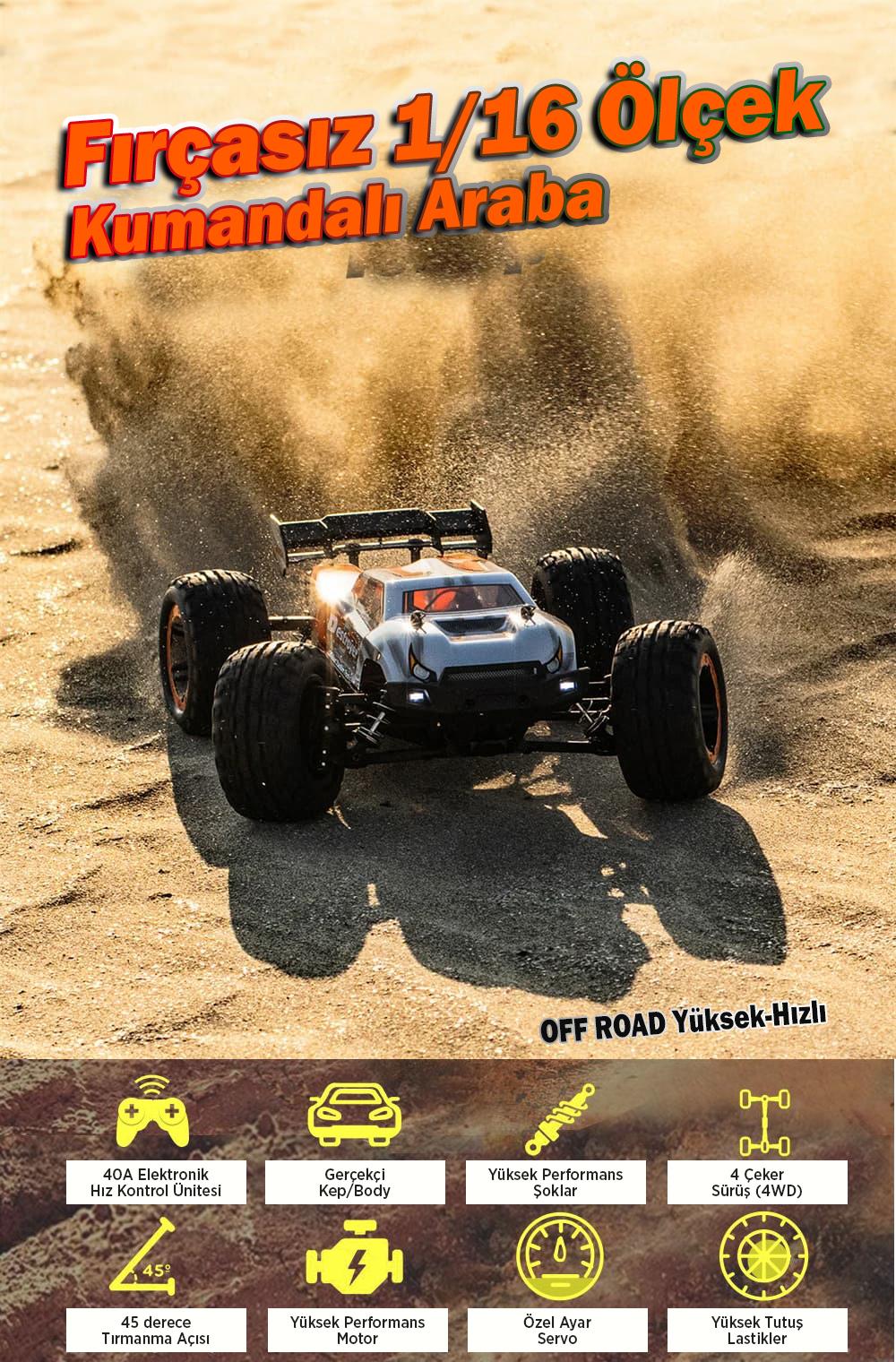 HBX Kumandalı RC Araba